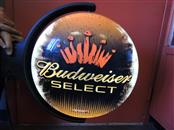BUDWESIER SELECT ROTATING LIGHT BAR SIGN